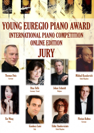 Plakat Young Euregio Piano Award